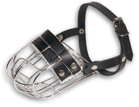 Jack Russell Terrier Muzzle-Small dog muzzle-wire basket muzzle