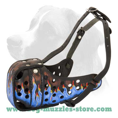 Completely safe dog muzzle
