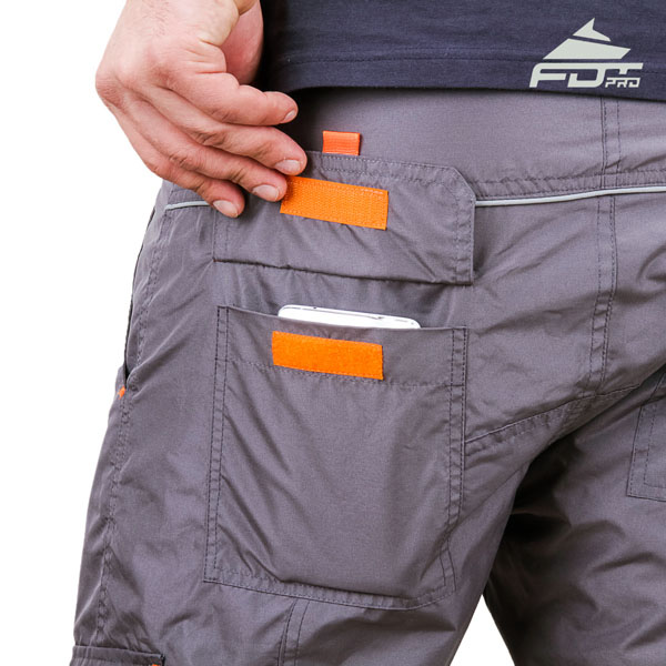 Convenient Design Pro Pants with Durable Side Pockets for Dog Trainers