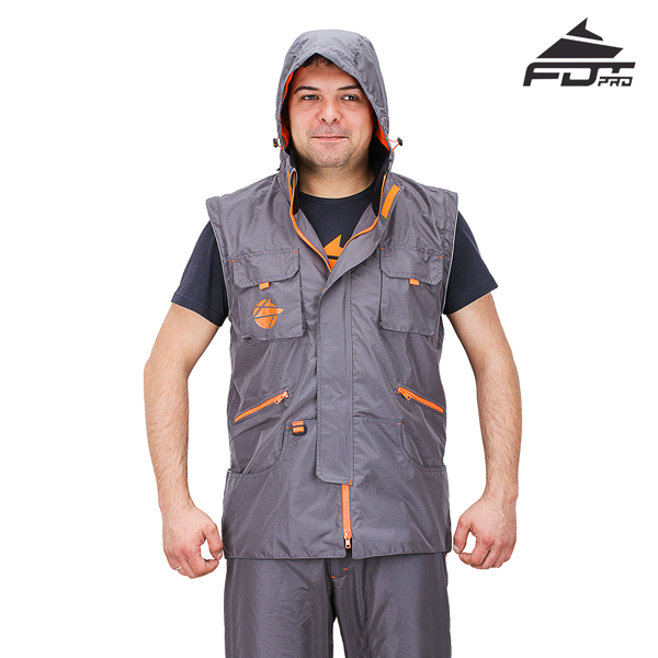 FDT Professional Design Dog Tracking Jacket of Finest Quality Materials