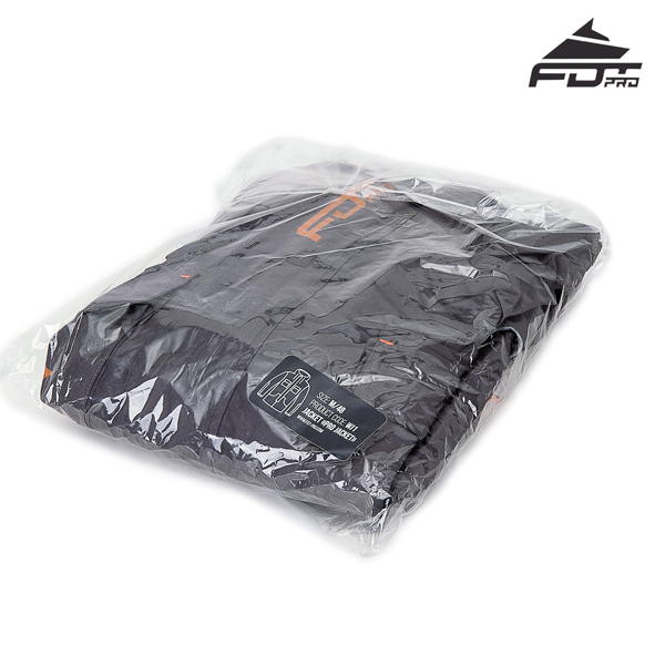 FDT Pro Dog Trainer Jacket with Top Notch Velcro Fastening