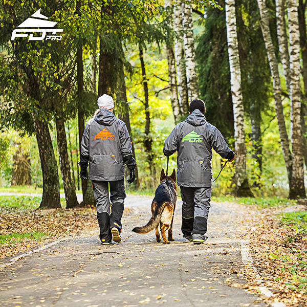 FDT Professional Dog Trainer Jacket of Top Quality for Any Weather Conditions