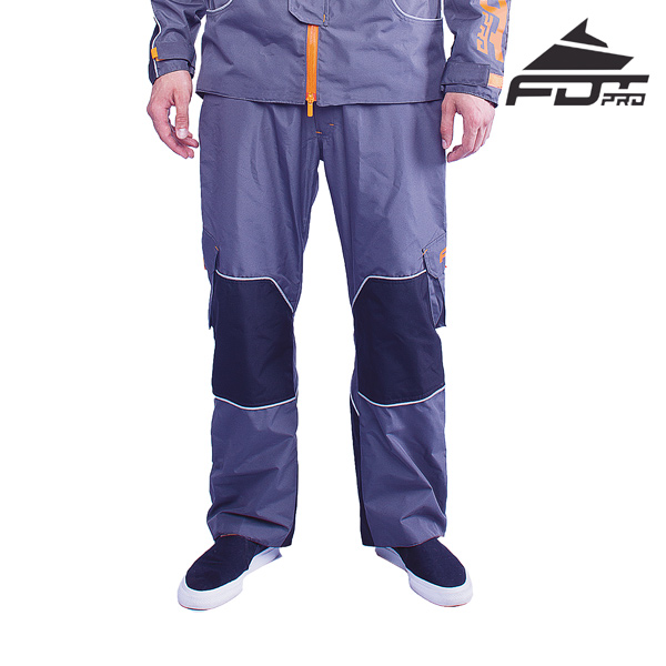 FDT Professional Pants of Grey Color for Cold Days