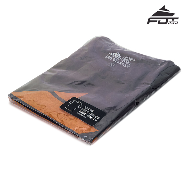 Packed FDT Professional Design T-shirt Dark Grey