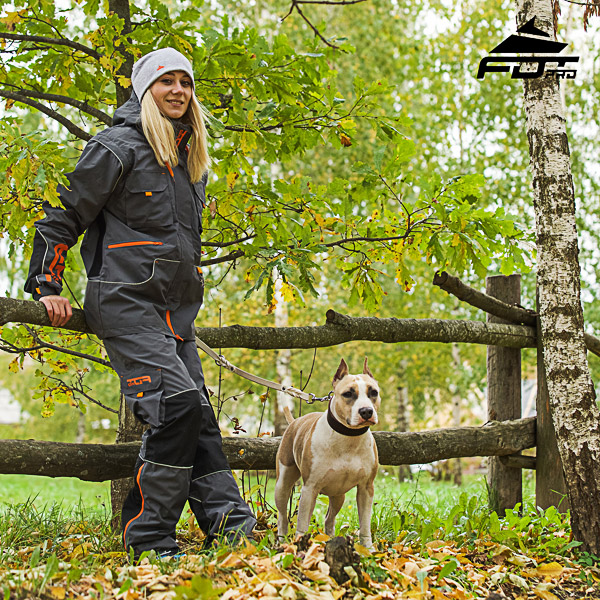 Unisex Design Active Dog Trainers Pro Pants with Back Pockets