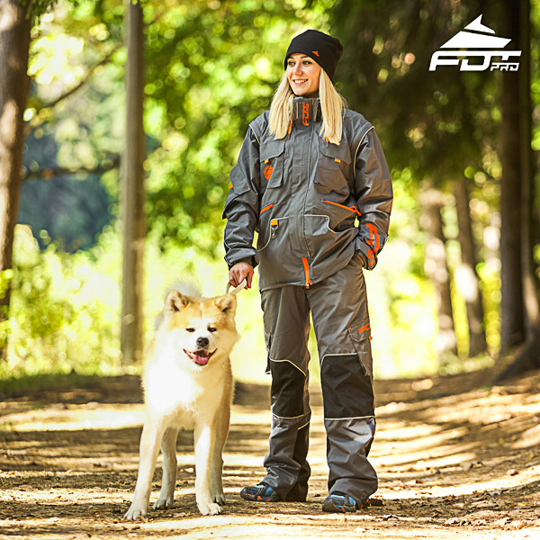 Men and Women Design Dog Trainer Jacket of High Quality Materials