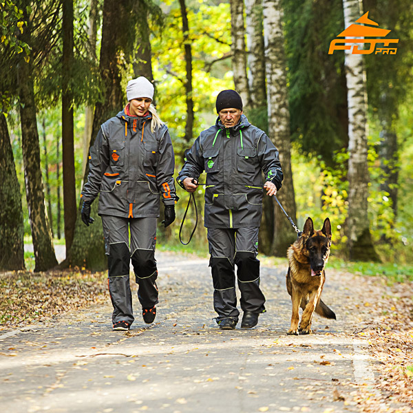 Any Weather Conditions Durable Dog Tracking Suit for Men and Women