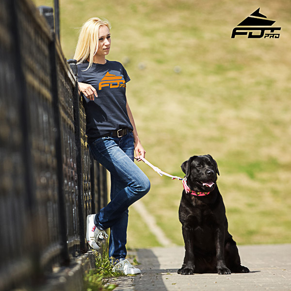 Women T-shirt of Durable Cotton for Dog Training